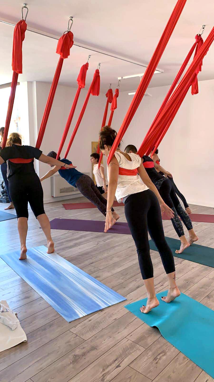 yoga in volo 26 gennaio